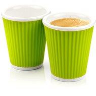 LES ARTISTES A-0632 Green, két részes pohárkészlet - zöld, 180 ml - Bögre