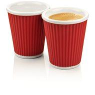 LES ARTISTES A-0634 Dark Red két részes pohárkészlet - bordó, 180 ml - Bögre