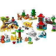 LEGO DUPLO Town 10907 A világ állatai - LEGO építőjáték