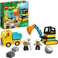 LEGO DUPLO 10931 Teherautó és lánctalpas exkavátor - LEGO
