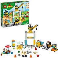 LEGO DUPLO Város 10933 Toronydaru és építkezés - LEGO építőjáték