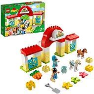 LEGO DUPLO Town 10951 Lóistálló és pónigondozás - LEGO