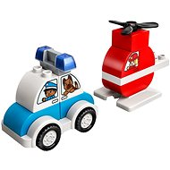 LEGO DUPLO 10957 Első tűzoltó helikopterem és rendőrautóm - LEGO