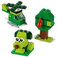 LEGO Classic 11007 Kreatív zöld kockák - LEGO