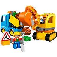 LEGO DUPLO 10812 Lánctalpas kotrógép és teherautó - Építőjáték