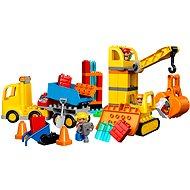 LEGO DUPLO 10813 Nagy építkezés - Építőjáték