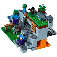 LEGO Minecraft 21141 Zombibarlang - Építőjáték