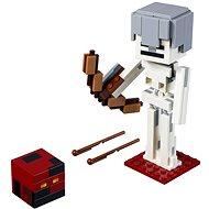 LEGO Minecraft 21150 Minecraft BigFig Csontváz magmakockával - Építőjáték
