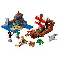 LEGO Minecraft 21152 A kalózhajós kaland - Építőjáték