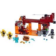 LEGO Minecraft 21154 Tüzes híd - Építőjáték