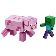 LEGO Minecraft 21157 BigFig malac Zombibabával - LEGO