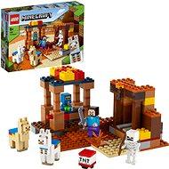 LEGO Minecraft 21167 A kereskedelmi állomás - LEGO