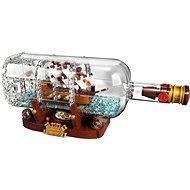 LEGO Ideas 21313 Hajó a palackban - Építőjáték