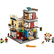 LEGO Creator 31097 Városi kisállat kereskedés és kávézó - LEGO építőjáték