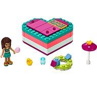 LEGO Friends 41384 Andrea nyári szív alakú doboza