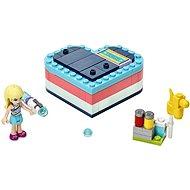 LEGO Friends 41386 Stephanie nyári szív alakú doboza - Építőjáték