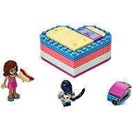 LEGO Friends 41387 Olivia nyári szív alakú doboza - Építőjáték