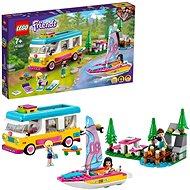 LEGO® Friends 41681 Erdei lakóautó és vitorlás - LEGO