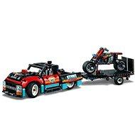 LEGO Technic 42106 Kaszkadőr teherautó és motor - LEGO építőjáték