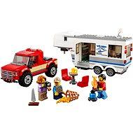 LEGO City 60182 Furgon és lakókocsi - Építőjáték