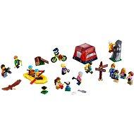 Építőjáték LEGO City 60202 Figuracsomag - kültéri kalandok - Építőjáték