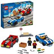 LEGO City Police 60242 Rendőrségi letartóztatás az országúton - LEGO építőjáték
