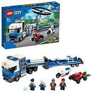 LEGO City 60244 Rendőrségi helikopteres szállítás - LEGO