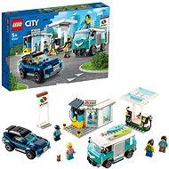 LEGO City Nitro Wheels 60257 Benzinkút - LEGO építőjáték