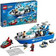 LEGO® City 60277 Rendőrségi járőrcsónak - LEGO