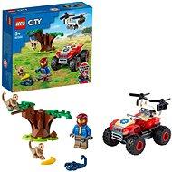 LEGO® City 60300 Vadvilági ATV mentőjármű