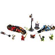LEGO Ninjago 70667 Kai penge motorja és Zane hómobilja - LEGO építőjáték