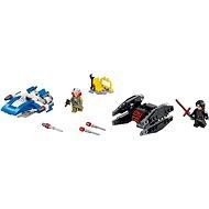 LEGO Star Wars 75196 A-szárnyú vs. TIE Silencer Microfighters - Építőjáték