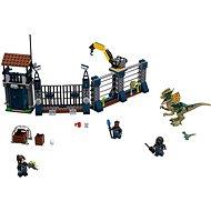 LEGO Jurassic World 75931 Dilophosaurus támadás az előörs ellen - Építőjáték