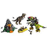 LEGO Jurassic World 75938 T. rex és Dino-Mech csatája - Építőjáték