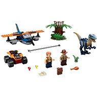 LEGO Jurassic World 75942 Velociraptor: Kétfedelű repülőgépes mentőakció - LEGO