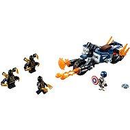 LEGO Super Heroes 76123 Amerika kapitány: Outrider támadás - Építőjáték