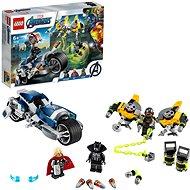 LEGO Super Heroes 76142 Bosszúállók Speeder biciklis támadás - LEGO építőjáték