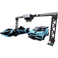 LEGO Speed Champions 76898 Formula E Panasonic Jaguar Racing GEN2 car & Jaguar I-PACE eTROPHY - LEGO