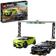 LEGO Speed Champions 76899 Lamborghini Urus ST-X & Lamborghini Huracán Super Trofeo EVO - LEGO