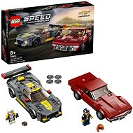 LEGO Speed Champions 76903 Chevrolet Corvette C8.R Race Car és 1968 Chevrolet Corvette - LEGO