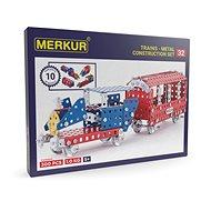 Merkur 300 darabos vasútmodell készlet - Építőjáték
