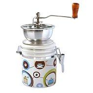 Toro kávédaráló, porcelán, rozsdamentes acél, kávé motívum - Kávédaráló