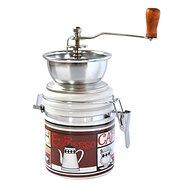 Toro Kávédaráló, porcelán, rozsdamentes acél, Espresso motívum - Daráló