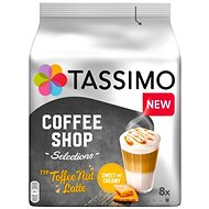 Tassimo Toffee Nut Latte 268g - Kávékapszulák