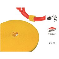 LABEL THE CABLE LTC PRO Roll 1240 Yellow 25m - Kábelrendező