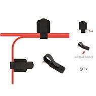 LABEL THE CABLE PRO 3110 Wall kábelkötegelő falra BK, 50 db - Kábelrendező