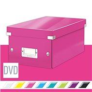 Leitz WOW Click & Store DVD, 10,66 l, rózsaszín