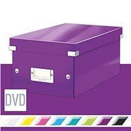Leitz WOW Click & Store  DVD, 10,66 l, bíborvörös