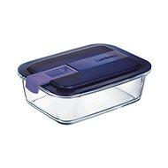 LuminArc EASY BOX Ételtároló, téglalap alakú 122 cl + fedél - Edény