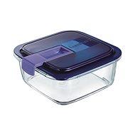 LuminArc EASY BOX Ételtároló, téglalap alakú, 82 cl + fedél - Edény